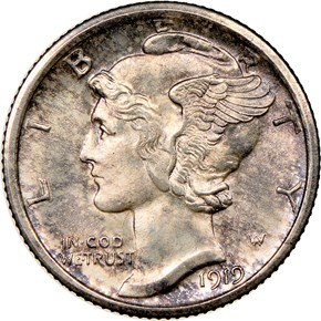 1919 S 10C MS obverse