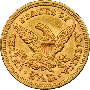 1854 $2.5 MS reverse
