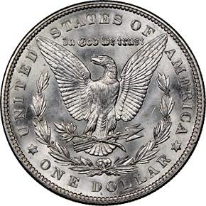 1903 $1 MS reverse