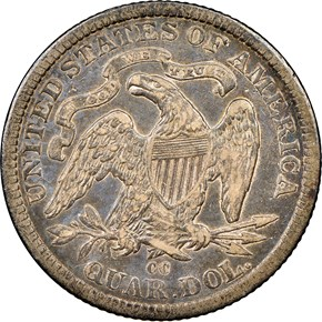 1878 CC 25C MS reverse