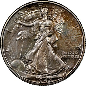 1942 50C PF obverse