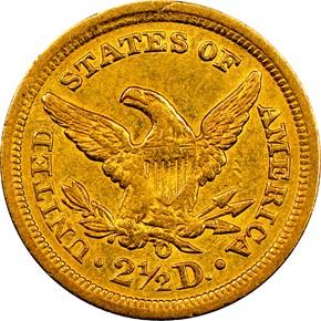 1840 O $2.5 MS reverse