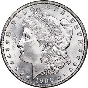 1900 $1 MS obverse
