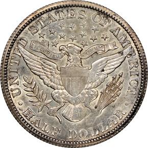 1894 O 50C MS reverse