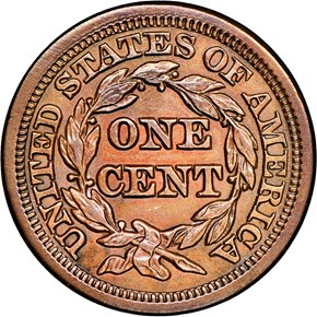 1847 1C MS reverse