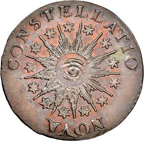 1785 LG DATE POINT RAYS NOVA CONSTELLATIO MS obverse