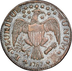 1787 EAGLE LEFT EXCELSIOR MS reverse