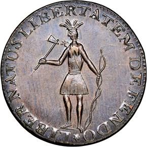 1787 INDIAN EXCELSIOR MS obverse