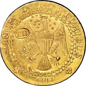 1787 'EB' ON WING EPHRAIM BRASHER DBLN MS reverse