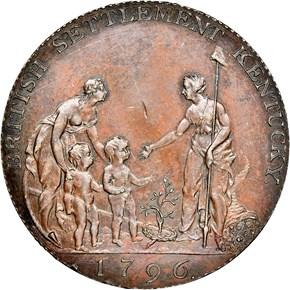 1796 COPPER MYDDELTON TOKEN PF reverse