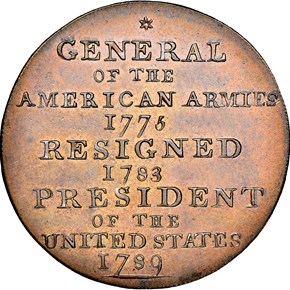 (1792) COPPER WASHINGTON BORN VIRGINIA 1C MS reverse