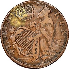 c.1670 ST.PATRICK NEW JERSEY 1/2P MS obverse