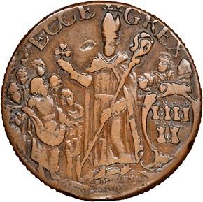 c.1670 ST.PATRICK NEW JERSEY 1/2P MS reverse