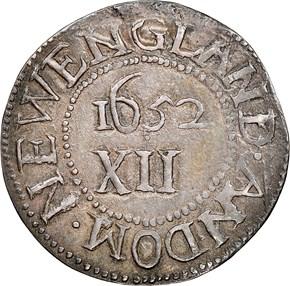 1652'IN'BOT OAK TREE MASSACHUSETTS 1S MS reverse