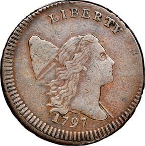 1797 L.EDGE LOW HEAD C-3b 1/2C MS obverse