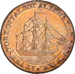 1795 LETTER EDGE TALBOT ALLUM & LEE 1C MS reverse