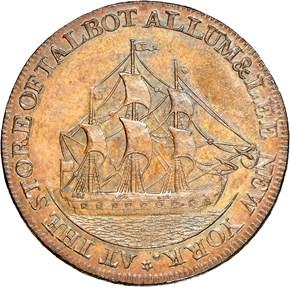 1795 PLAIN EDGE TALBOT ALLUM & LEE 1C MS reverse