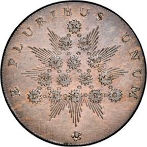 c.1792 PLAIN EDGE KENTUCKY TOKEN MS reverse