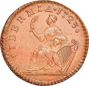1723 'D:G:' HIBERNIA 1/4P MS reverse