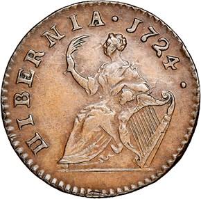 1724 HIBERNIA 1/4P MS reverse