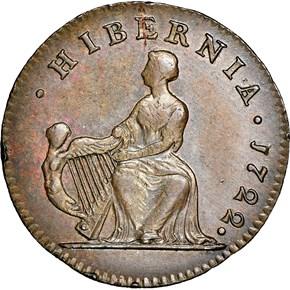 1722 HARP LEFT HIBERNIA 1/2P MS reverse