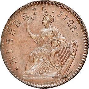 1723 HIBERNIA 1/2P MS reverse