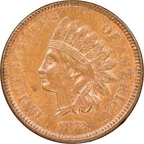 1872 1C MS obverse