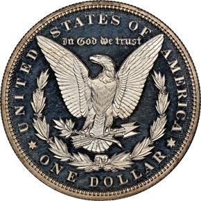 1894 $1 PF reverse