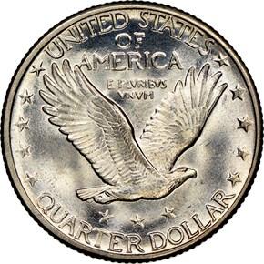 1924 D 25C MS reverse