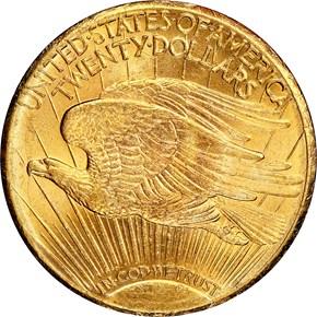 1927 S $20 MS reverse