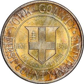 1936 YORK 50C MS obverse