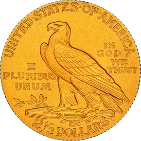 1913 $2.5 PF reverse