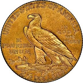 1928 $2.5 MS reverse