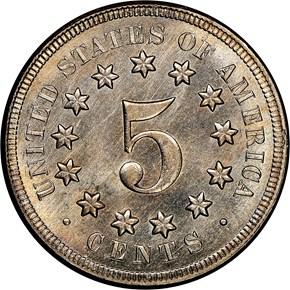 1867 NO RAYS 5C MS reverse