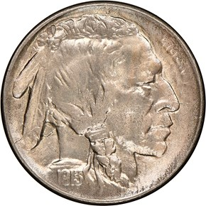 1913 S TYPE 1 5C MS obverse