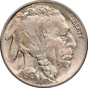 1916 5C MS obverse
