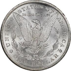 1878 CC $1 MS reverse