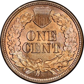 1862 1C MS reverse