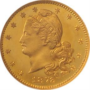1872 J-1224 G$1 PF obverse