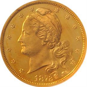 1872 J-1230 $2.5 PF obverse