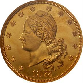 1872 J-1250 $20 PF obverse