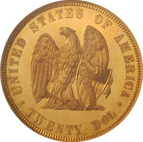 1872 J-1250 $20 PF reverse