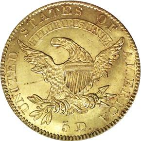 1827 BD-1 $5 MS reverse