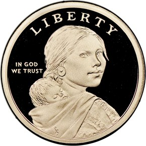 2019 S Sacagawea Mary Golda Ross $1 PF obverse