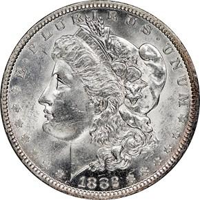 1882 O/S $1 MS obverse
