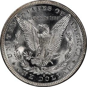 1882 O/S $1 MS reverse