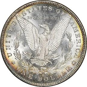 1881 O $1 MS reverse
