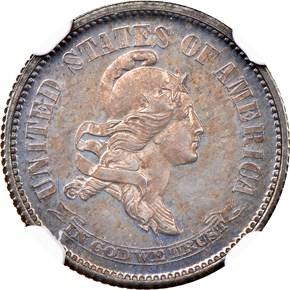 1869 J-696 10C PF obverse