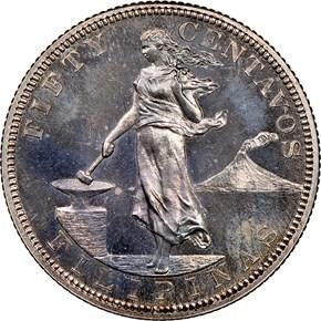 1903 USA-PHIL 50C PF obverse