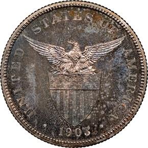 1903 USA-PHIL 50C PF reverse